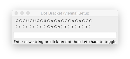Dot Bracket Viewer